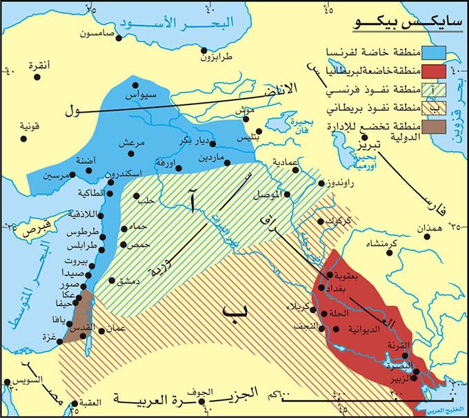 الدولة العربية وسايكس بيكو وإرهاصات الواقع