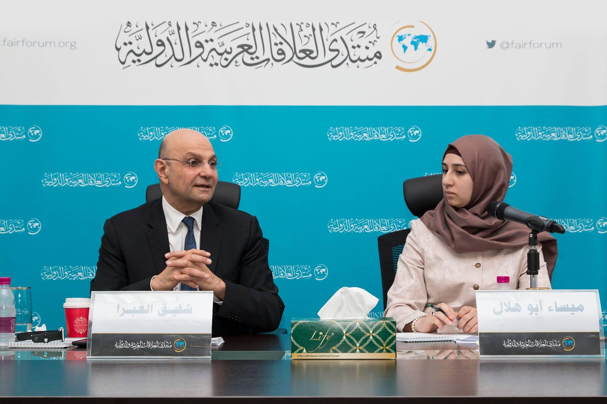 محاضرة: فلسطين في خارطة الربيع العربي - د.شفيق الغبرا