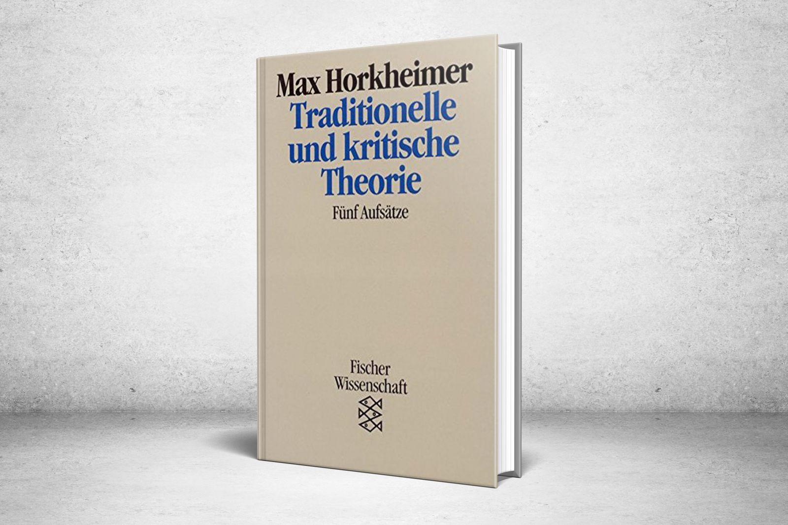 النظرية التقليدية والنظرية النقدية
